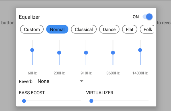 Mx Player Equalizer